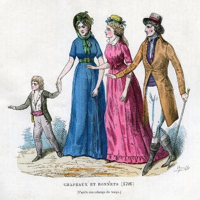 Hats and Bonnets, 1796 (1882-188)