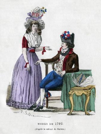 Fashion of 1792, (1882-188)