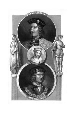 Edward IV, Edward V and Richard III of England