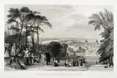 Greenwich Park, Greenwich, London, 1844