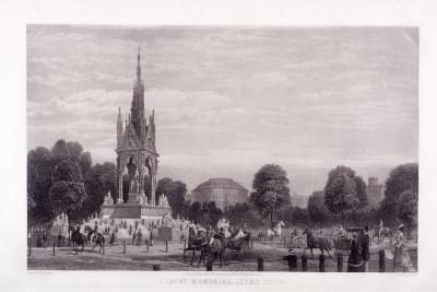 Albert Memorial, Kensington, London, 1869