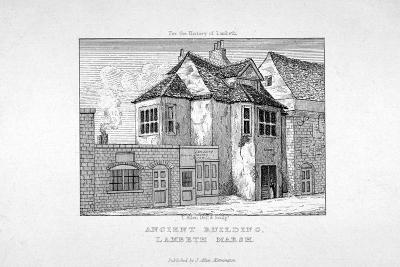 Buildings Near Lambeth Marsh, London, C1820