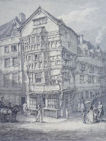 Chancery Lane, London, 1814