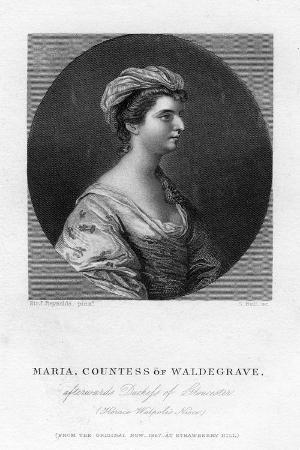 Maria Walpole (1736-180), Countess Waldegrave, 1867