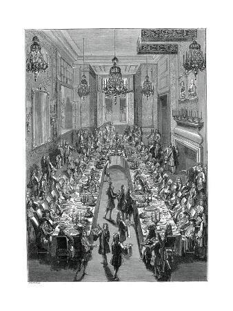 Feast at the Spanish Embassy, Paris, 1707