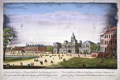St James's Park and Horse Guards, Westminster, London, 1752