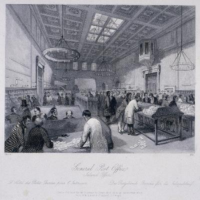 General Post Office, London, C1844