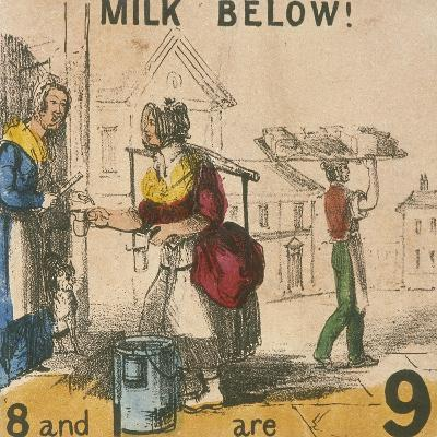 Milk Below!, Cries of London, C1840