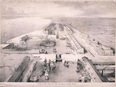 Thames Haven Dock, London, C1830