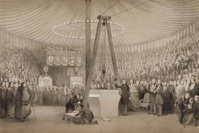 Prince Albert Laying the First Stone of the New Royal Exchange, London, 17th January 1842