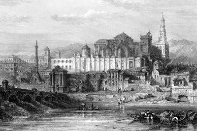 Great Mosque and the Dungeon of the Inquisition, Cordoba, Spain, 19th Century