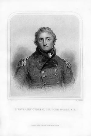 Sir John Moore, British Soldier and General