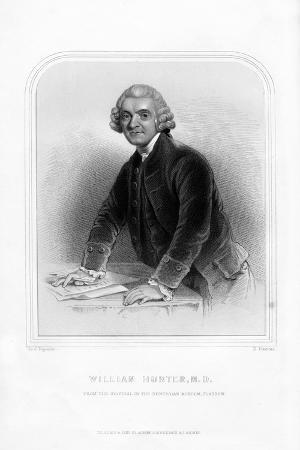 Dr William Hunter, Scottish Anatomist and Obstetrician