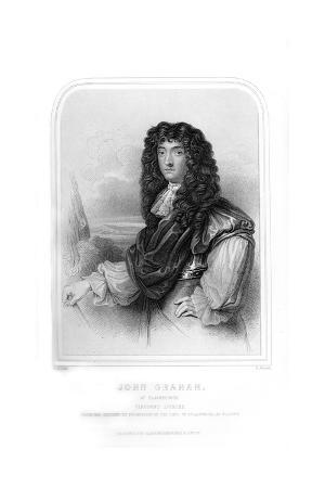 John Graham of Claverhouse, 1st Viscount Dundee, Scottish Jacobite Commander