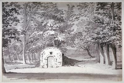 An Ice House or Conduit in Greenwich Park, London, 1772