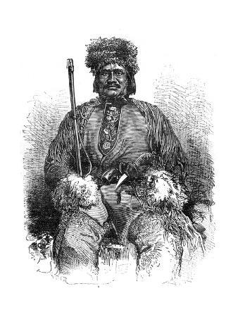 A French Métis, Canada, 19th Century