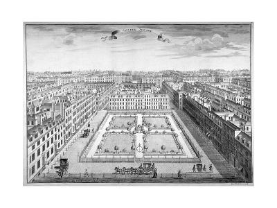 Golden Square, Westminster, London, 1754