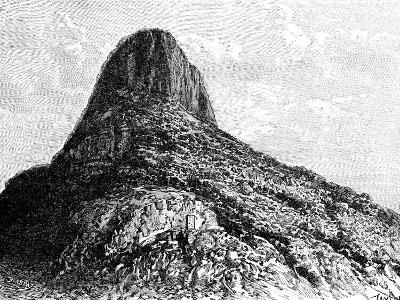 Mount Selkirk, Juan Fernandez Islands, 1895