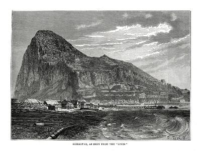 The Rock of Gibraltar, 1879
