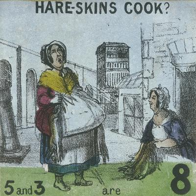 Hare-Skins Cook?, Cries of London, C1840
