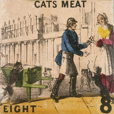 Cats Meat, Cries of London, C1840