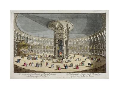 The Rotunda in Ranelagh Gardens, Chelsea, London, C1750