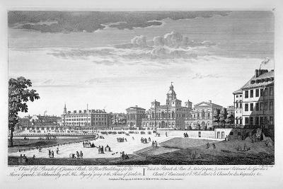 Horse Guards Parade from the South-West, Westminster, London, 1753