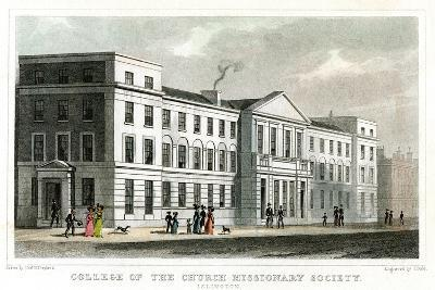 College of the Church Missionary Society, Islington, London, 1827