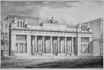 Corn Exchange, Mark Lane, City of London, 1827