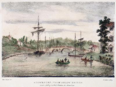 Stourport-On-Severn, Worcestershire, from Below the Bridge, C1795