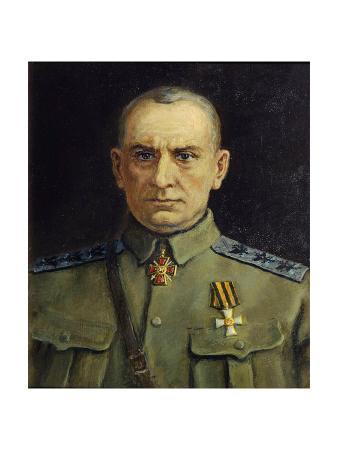 Portrait of Alexander Kolchak, C1918-C1920