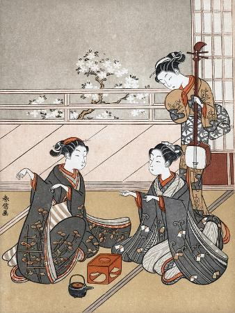 Girls Playing the Game of Ken, C1745-1770