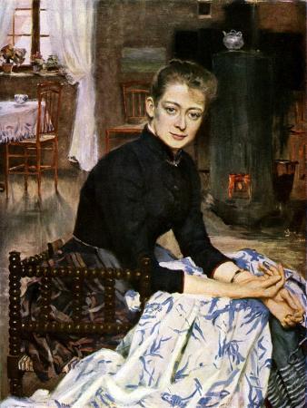 Konstnaren's Wife, 1886