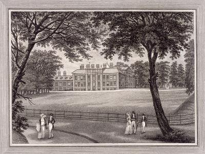 Kensington Gardens, Kensington, London, 1823