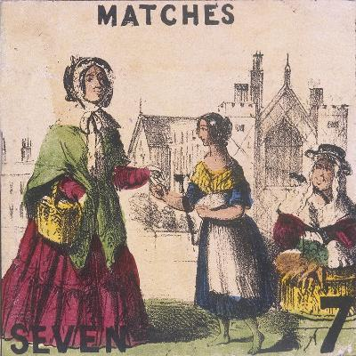 Matches, Cries of London, C1840