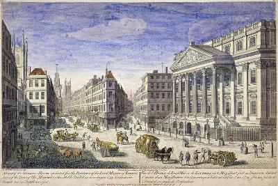 Mansion House (Exterior), London, 1751