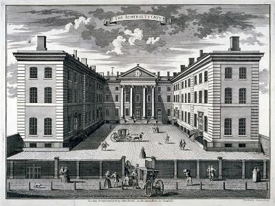 The Admiralty, Whitehall, Westminster, London, 1731