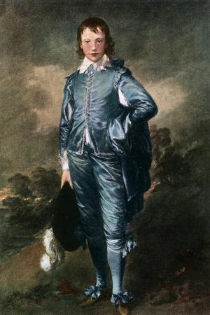 Master Buthall, (The Blue Bo), C1770