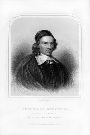Archibald Campbell, 1st Marquess of Argyll, Scottish Statesman