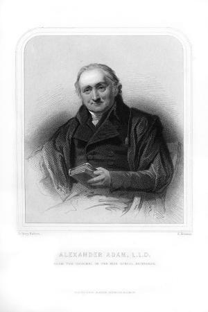 Alexander Adam, Scottish Teacher and Writer on Roman Antiquities