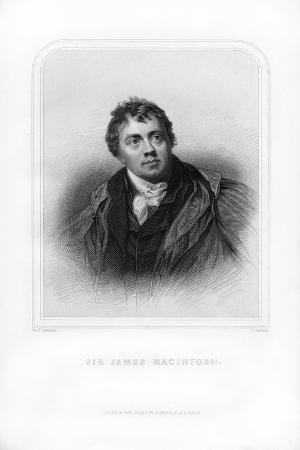 Sir James Mackintosh, Scottish Writer and Philosopher