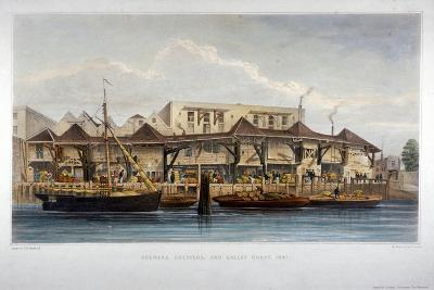 Brewer's Quay, Chester Quay and Galley Quay, Lower Thames Street, City of London, 1841