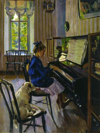 At the Piano, 1914