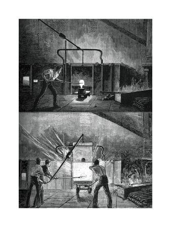 Puddlers at Work, C1880