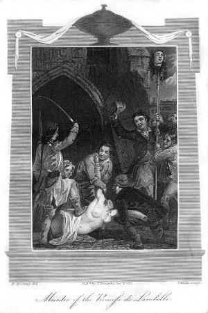 Murder of the Princess De Lamballe, 1816