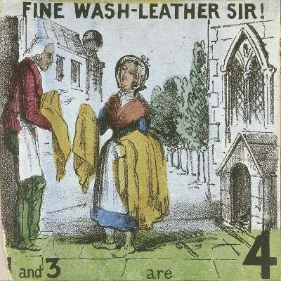 Fine Wash-Leather Sir!, Cries of London, C1840
