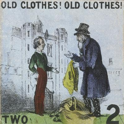 Old Clothes! Old Clothes!, Cries of London, C1840