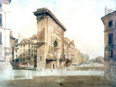 La Porte St Denis, Paris, 1800