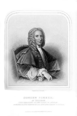 Duncan Forbes, Scottish Politician and Judge