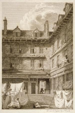 Green Arbour Court, Old Bailey, City of London, 1803